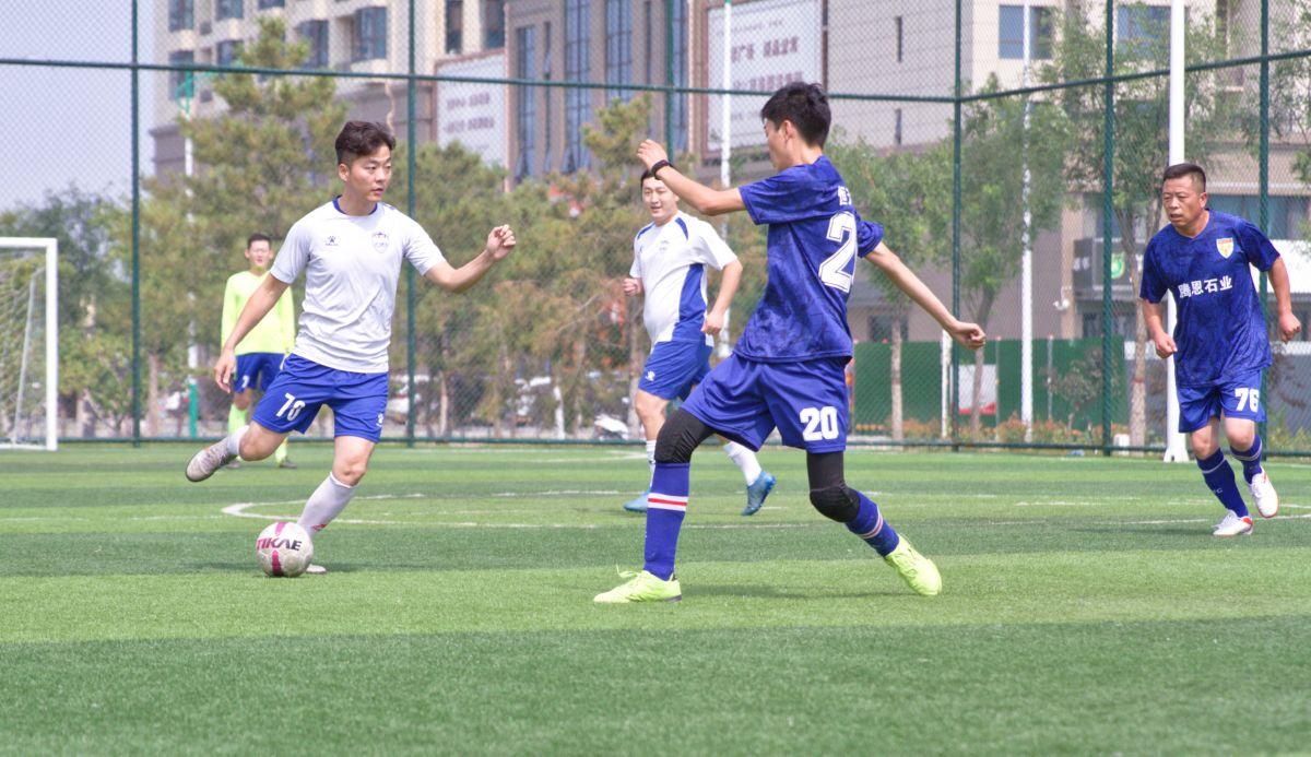盐湖区体育事业发展中心举办五人制足球比赛